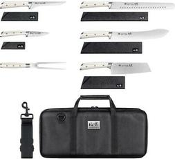 Cangshan S Series 7-piece BBQ Knife Set | White