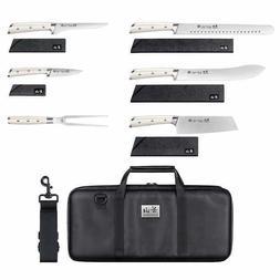 Cangshan S Series 7-piece BBQ Knife Set, Sheaths Included, W