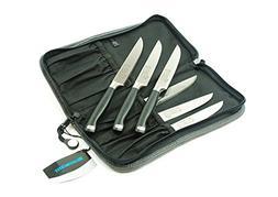 Messermeister 6 Piece San Moritz Elite Multi-Edge Steak Knif