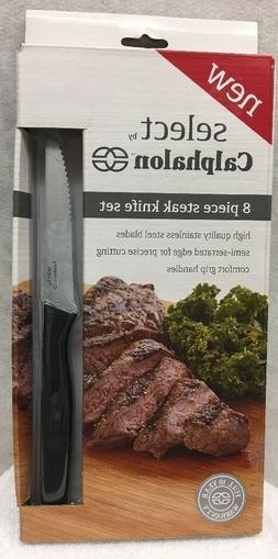 Select By Calphalon 8-Piece Steak Knife Set    NEW IN BOX