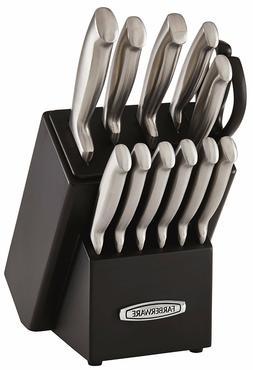 Self-Sharpening 13-Piece Knife Block Set with EdgeKeeper Tec