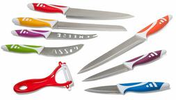 Chef Knife Set Multi Use 8 Piece Home Kitchen Utensils Chop