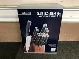 J.A. Henckels 16-pc Silvercap Cutlery Set NEW in Box, Wood