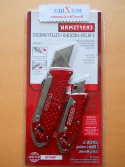 Craftsman Slide-Locking Utility Knives Set #94876