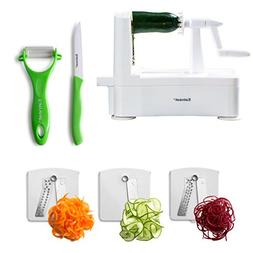 Eatneat Spiralizer Vegetable Slicer with Stronghold Suction