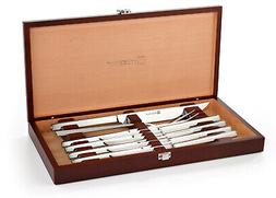 Wusthof Stainless Steel Carving and Steak Knife Set