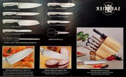 New Sabatier 10 Piece Stainless Steel Cutlery Knife Set With