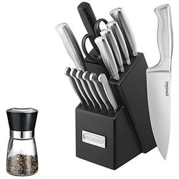 Cuisinart  Stainless Steel Hollow Handle 15-Piece Cutlery Kn