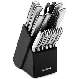 Farberware 15-Piece Stainless Steel Knife Set