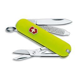 Victorinox Swiss Army Classic SD Pocket Knife, StayGlow
