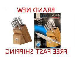Global Takashi 7 Piece Knife Block Set - BRAND NEW IN BOX -