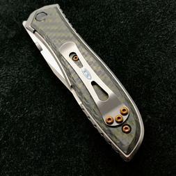 Titanium Screw set  for Zero Tolerance ZT 0640 ZT0640 - 4 co