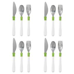OXO Tot Cutlery Set for Big Kids, Green