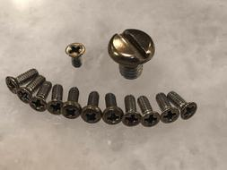 Translucent Gold Stainless Steel Screws Set For Emerson CQC-