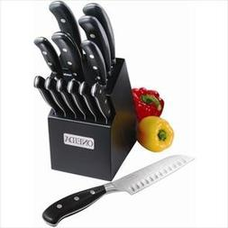 Oneida 14-Pc Triple Rivet Cutlery Set w/ Block