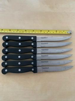 Used Durable Cuisinart Classic Set of 6 Steak Knives C77TR-6