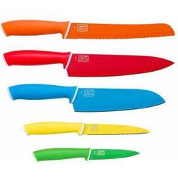 Chicago Cutlery Vivid 5-Piece Knife Set