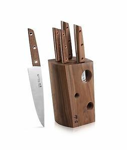 Cangshan W Series 59960 6 Piece German Steel Knife Block Set