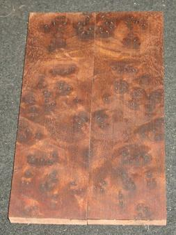 Walnut burl lace Knife Scales Grips Handle Matched Set