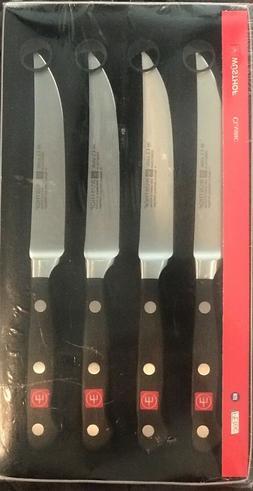 Wusthof classic 4 piece steak knife set 4068