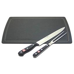 Wusthof Gourmet 2 Piece Carving Set with Black Epicurean Boa