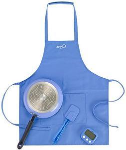 Ozeri ZP15-23BL Junior Chef Cooking Essentials Set, Blue
