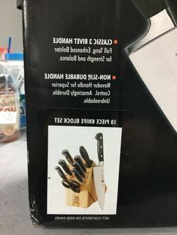 "ZWILLING J.A. Henckels Professional ""S"" 10-pc Knife Block Se"